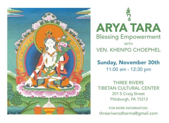 TRDC Arya Tara Nov 2014
